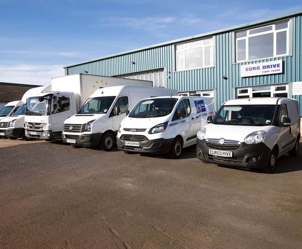 fleet of vehicles for hire