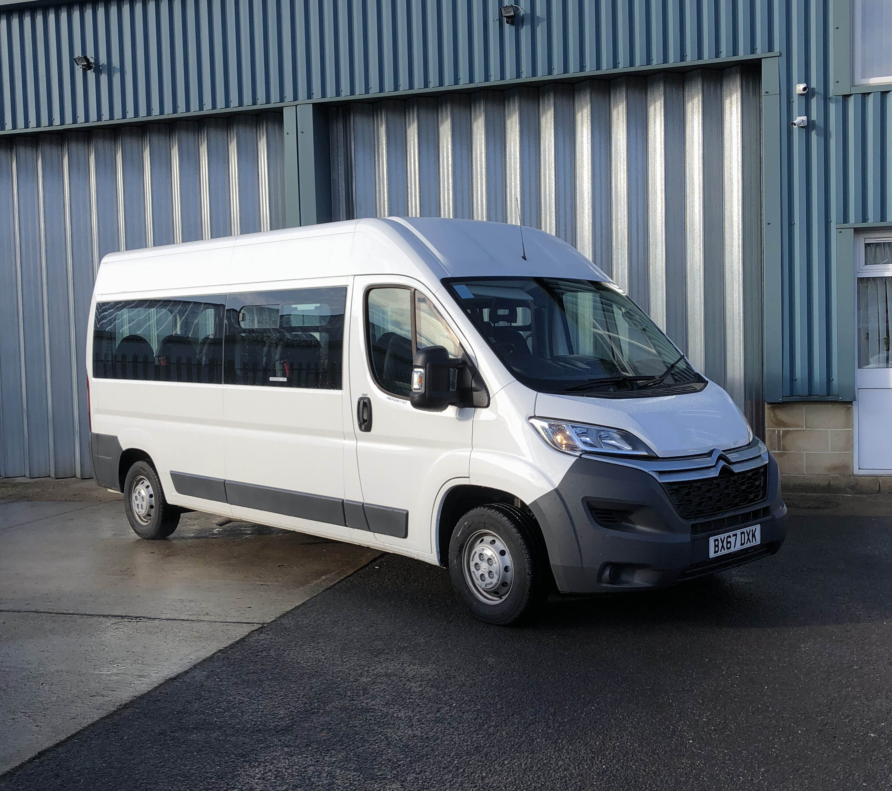 15 Passenger Ford Transit High Top: Car Hire Oxford