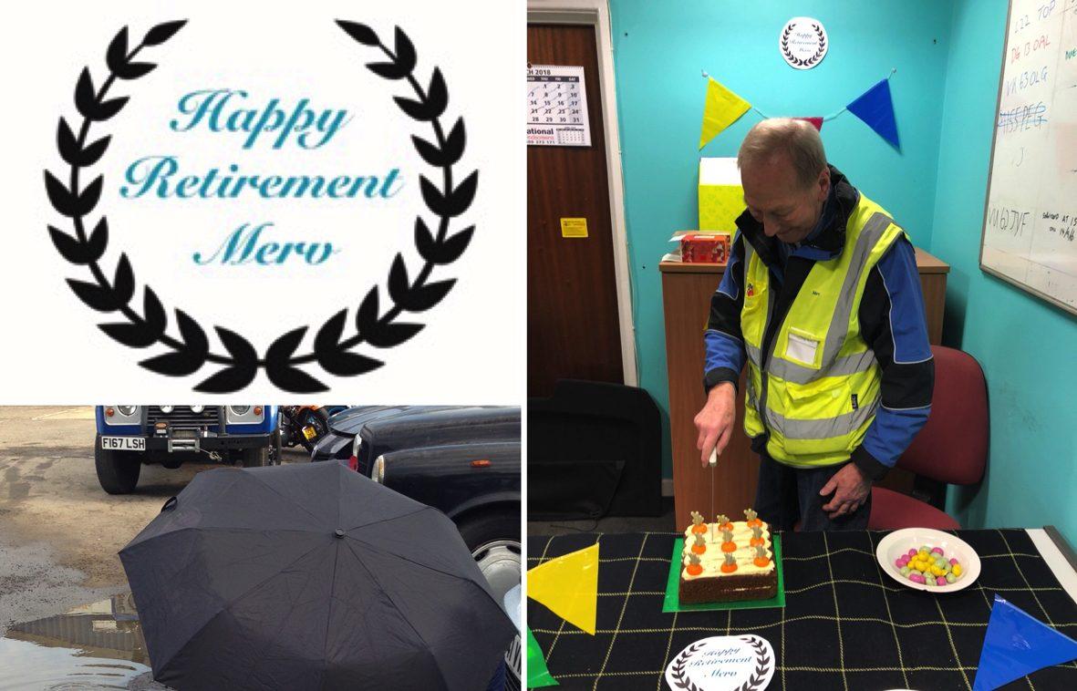 retirement for Eurodrive employee