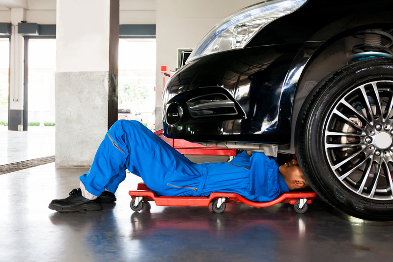Mechanic doing Car Service