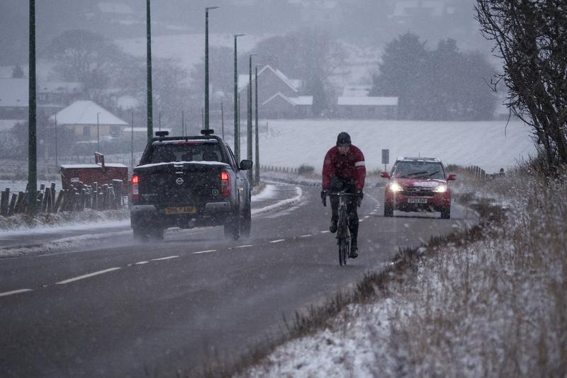 UK Snowy Roads